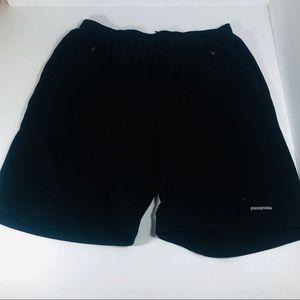 Patagonia Mens Swimming/Board Shorts Black Large
